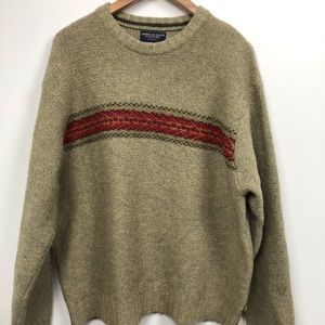 American Eagle Outfitters Mens Lambswool Sweater L